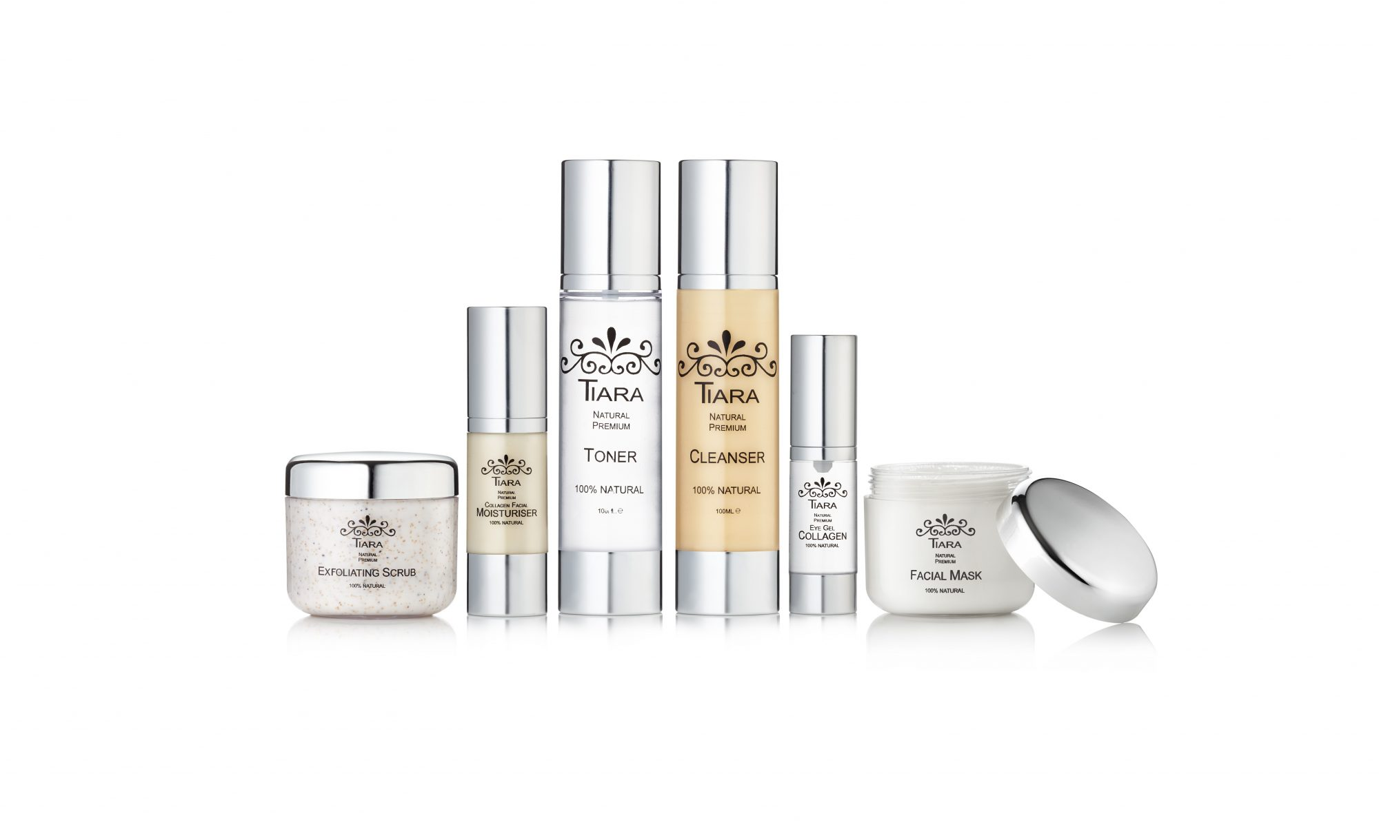 Tiara Natural Premium Skin Care Combo Set